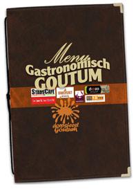 menukaart Gastronomisch Goutum